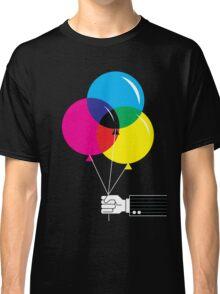 CMYK Balloons Classic T-Shirt