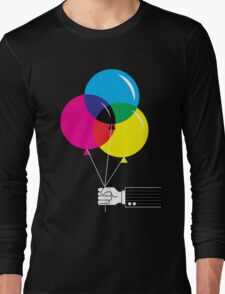 CMYK Balloons Long Sleeve T-Shirt