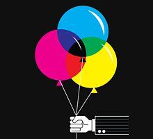 CMYK Balloons Unisex T-Shirt
