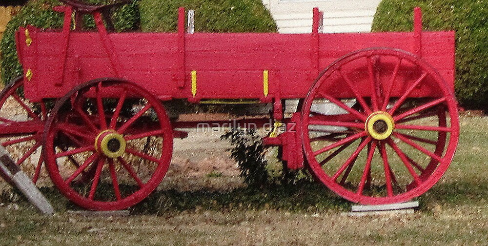 Paint Your Wagon by marilyn diaz