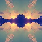 Multiple Sunsets  by Dev7in