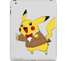 Pikachwho iPad Case/Skin