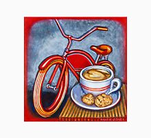 Red Electra Delivery Bicycle Cappuccino and Amaretti Unisex T-Shirt