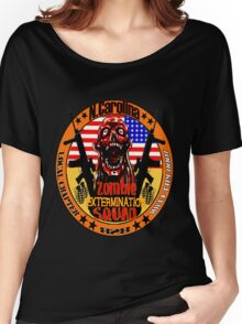 N.Carolina Zombie Extermination Squad Women's Relaxed Fit T-Shirt