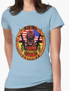 N.Carolina Zombie Extermination Squad Womens Fitted T-Shirt