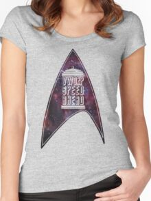 VWORP SPEED AHEAD Women's Fitted Scoop T-Shirt