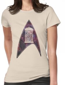 VWORP SPEED AHEAD Womens Fitted T-Shirt