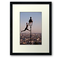 Montmartre Performer - Paris Framed Print