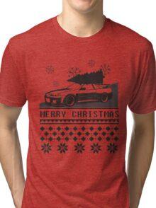 Merry Christmas r34 Tri-blend T-Shirt