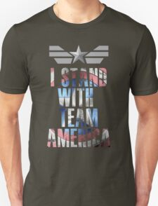 I Stand With Team America Unisex T-Shirt