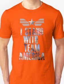 I Stand With Team America T-Shirt