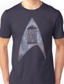 VWORP SPEED AHEAD (alternate) Unisex T-Shirt