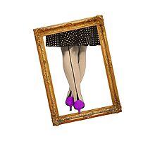 Hot Shoes - Purple! Photographic Print