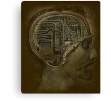 Man's Brain Canvas Print