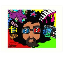 REGGIE WATTS - Part 1 Art Print