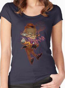 Mr. Mxyzptlk Women's Fitted Scoop T-Shirt