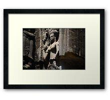 Angkor Apsara Framed Print