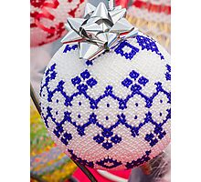 decorations for Christmas tree Photographic Print