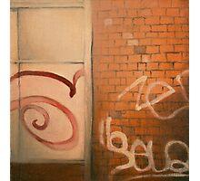 Chatîllon Graffiti Photographic Print