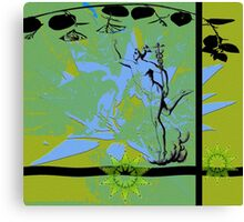 Mercury on the golden mean. Canvas Print