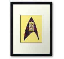 VWORP SPEED AHEAD Framed Print