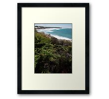 Back Beach Framed Print