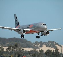Jetstar Airbus A320, Williamtown Airport, Australia 2010  by muz2142