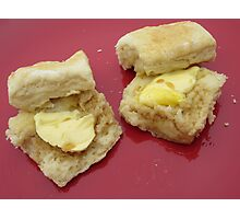Champagne Breakfast Scones Photographic Print