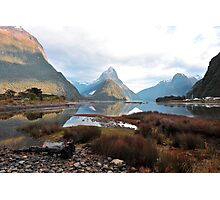 Milford Sound. South Island, New Zealand. (2) Photographic Print