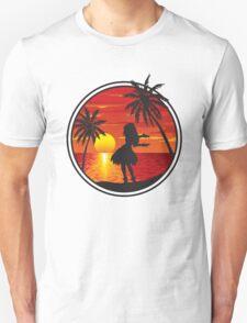 Hawaiian Sunset Unisex T-Shirt