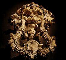 Intricate Door Knocker by Karen Lewis