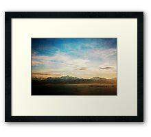 Kachemak Bay Framed Print