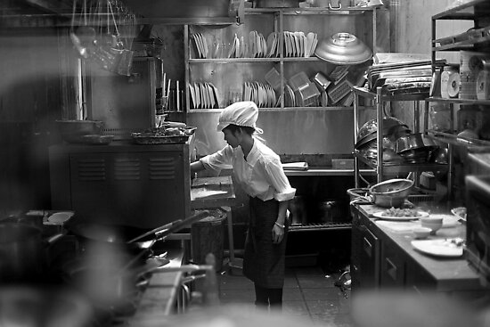 through a steamy Vietnamese kitchen window by geof