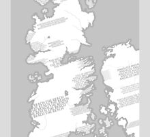 Westeros Map by Tetura