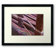Loom Weavers Framed Print