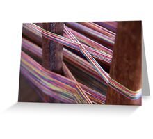 Loom Weavers Greeting Card