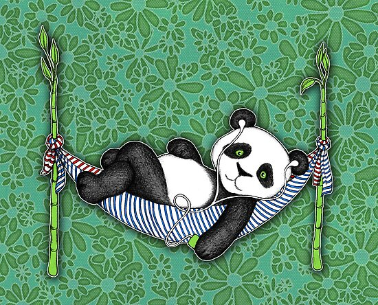 iPod Panda by micklyn