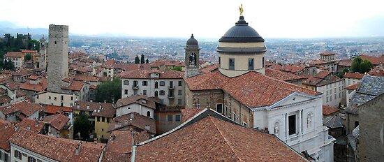 Bergamo Skyline_3 by dyanera