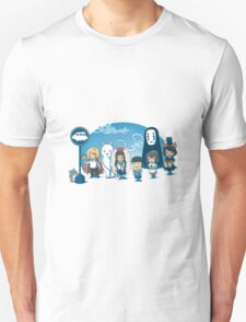 Glibli On Bus T-Shirt