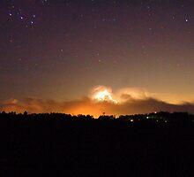 Distant Storm by mountainpics