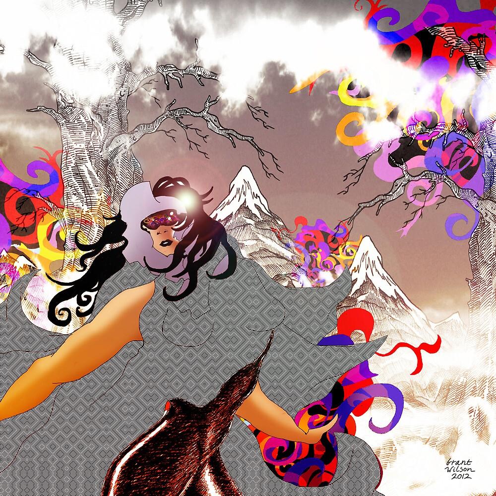 Sunglass Snowblind by Grant Wilson
