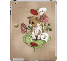 Puppy Bouquet iPad Case/Skin