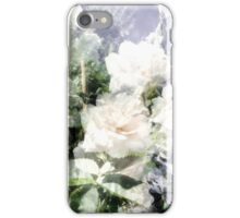 White Summer Roses iPhone Case/Skin
