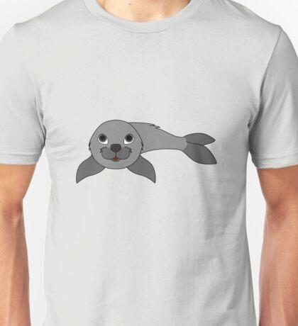 Gray Baby Seal Unisex T-Shirt