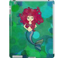 Mermaids have bad hair days, too. iPad Case/Skin
