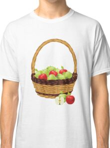 Red and Green apples Classic T-Shirt