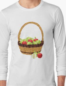 Red and Green apples Long Sleeve T-Shirt