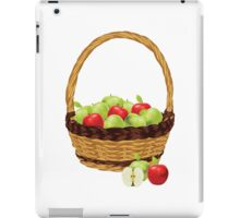Red and Green apples iPad Case/Skin