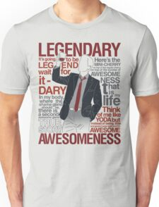 Barney Stinson - Legendary T-shirt of Awesomeness T-Shirt