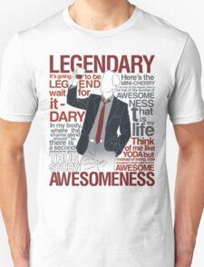 Barney Stinson - Legendary T-shirt of Awesomeness T-Shirt